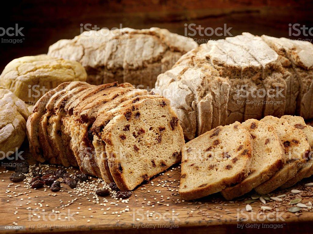 Gluten Free Breads stock photo