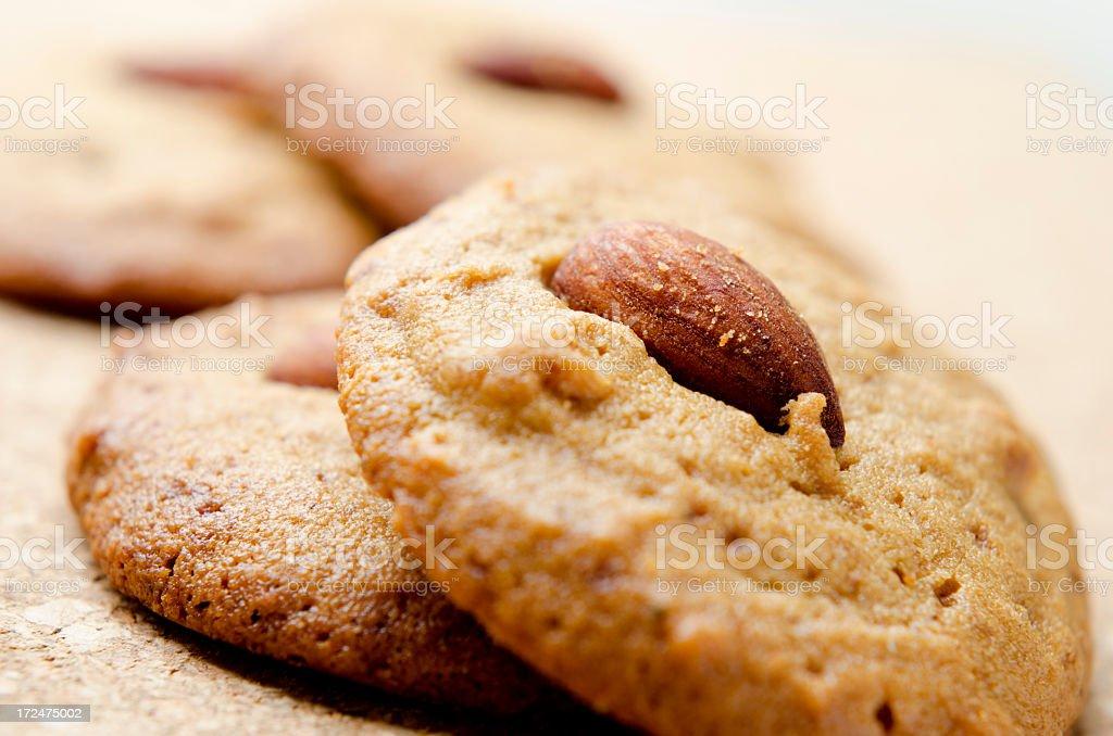 Gluten Free chick pea flour cookies royalty-free stock photo