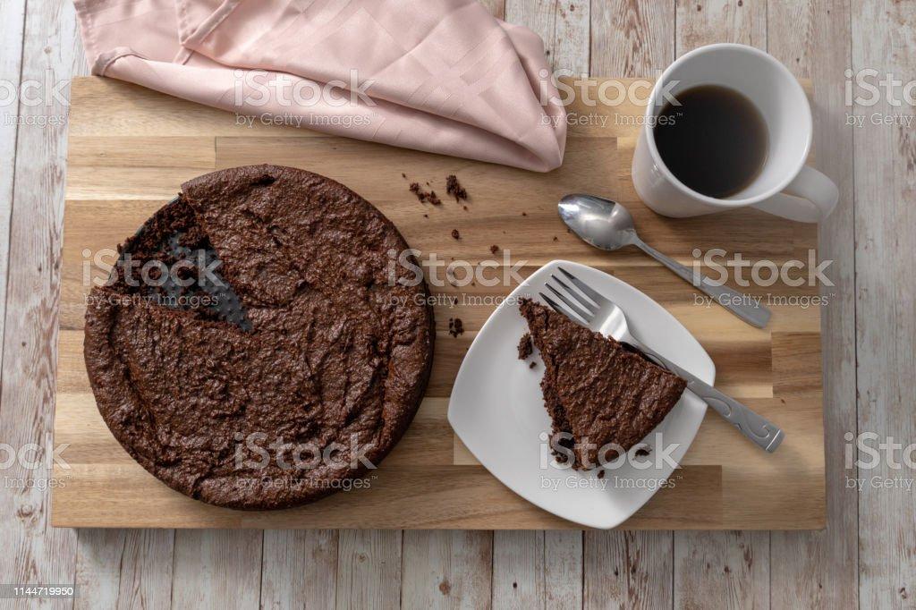 Gluten free chocolate cake - Foto stock royalty-free di Banana Bread