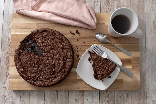 Gluten Free Chocolate Cake - Fotografie stock e altre immagini di Banana Bread