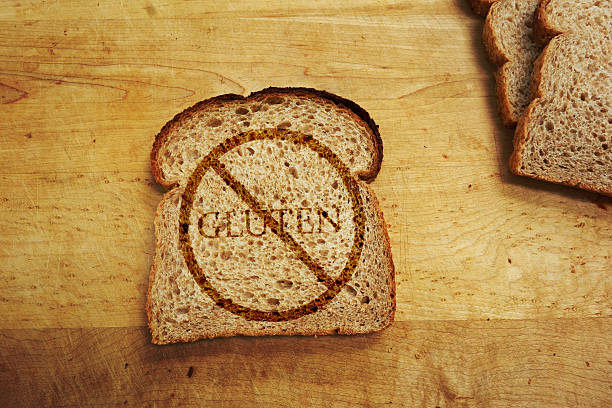 régime sans gluten - sans gluten photos et images de collection