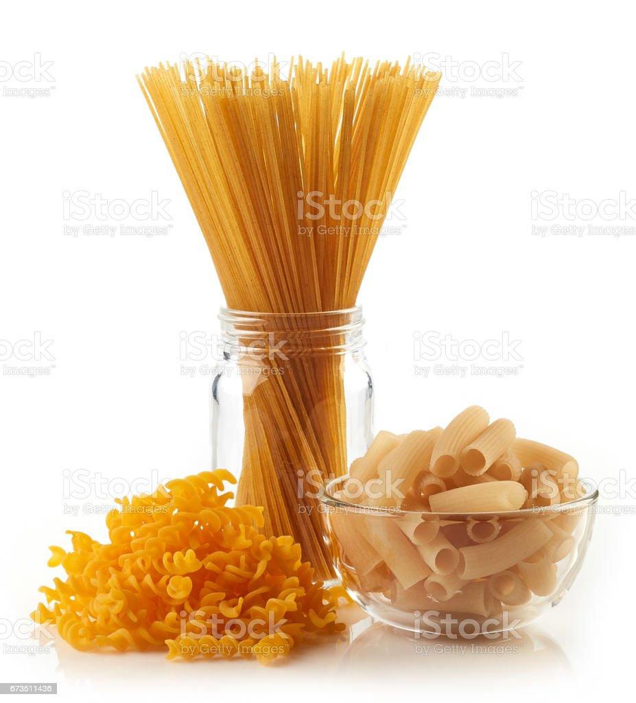 Gluten free pasta stock photo