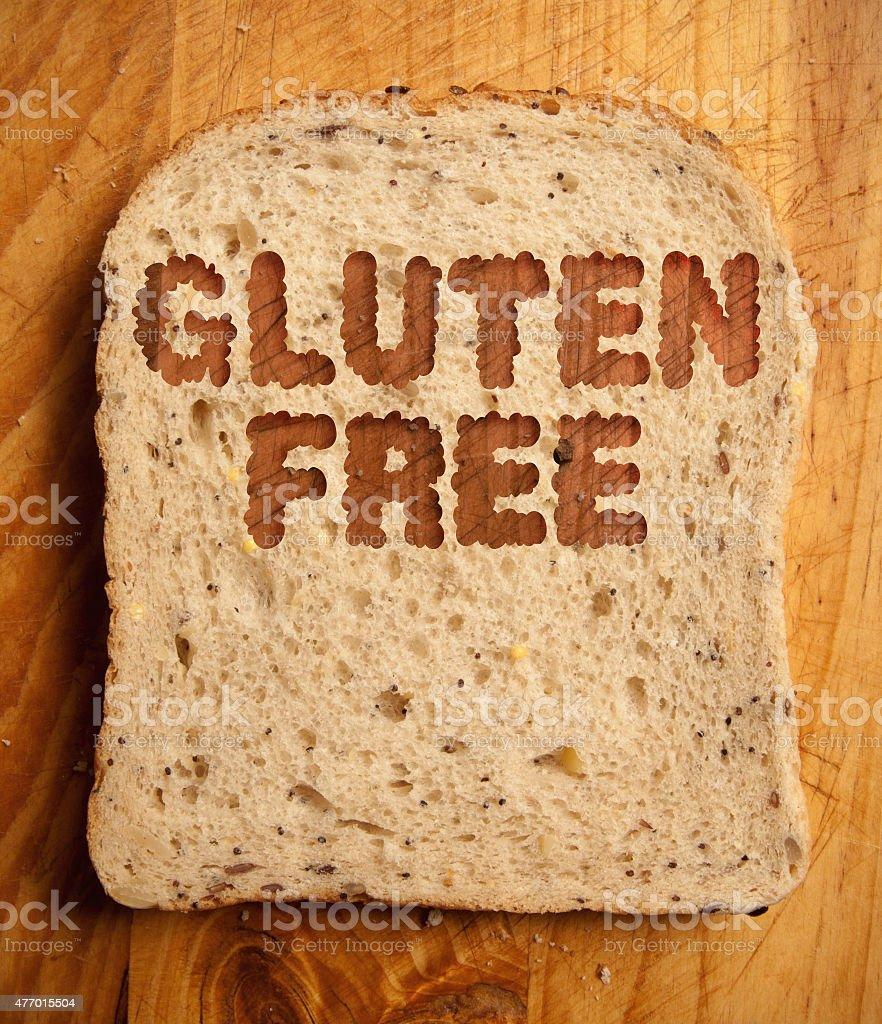 Gluten free stock photo