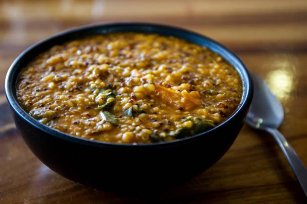 Glutenfri soppa bildbanksfoto