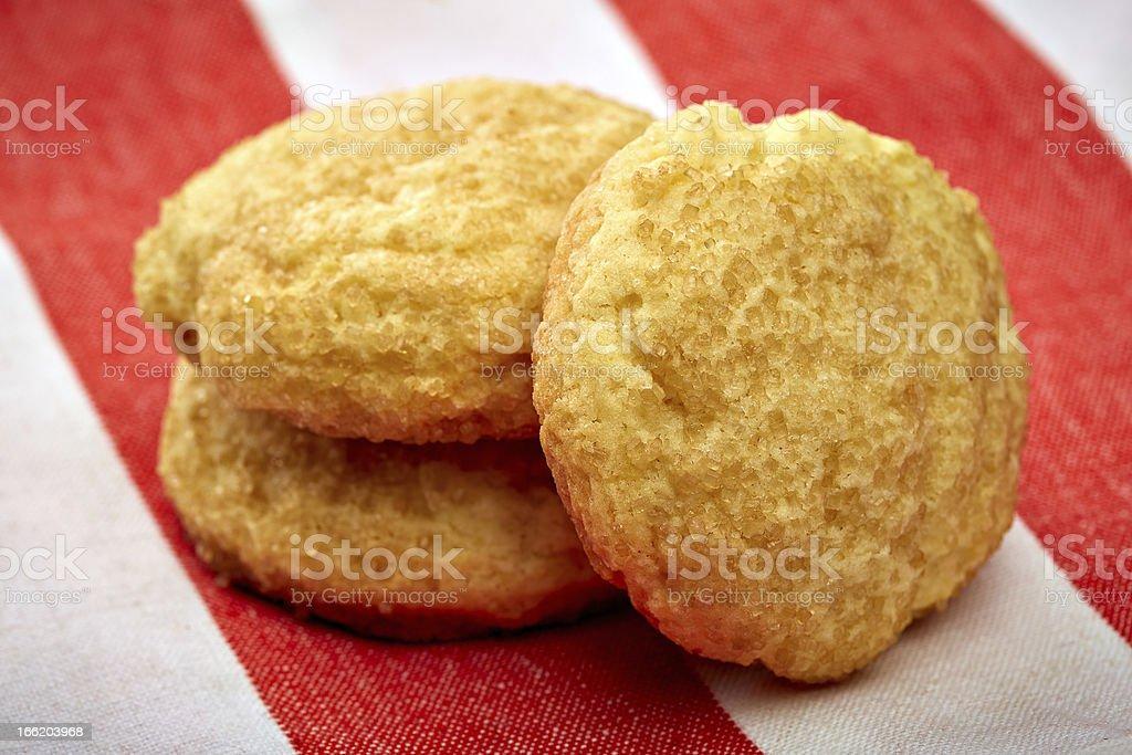 Gluten Free Sugar Cookies stock photo