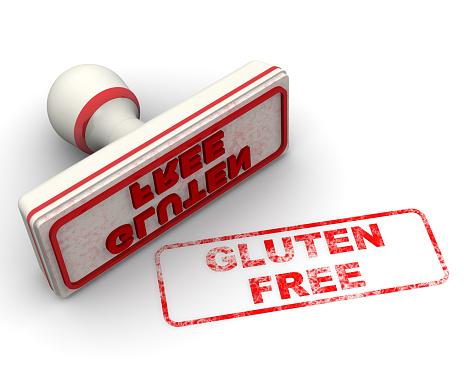 1181637623 istock photo Gluten free. The seal 1203968934