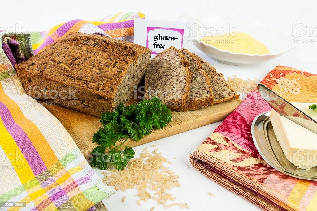 Gluten-free diet stock photo