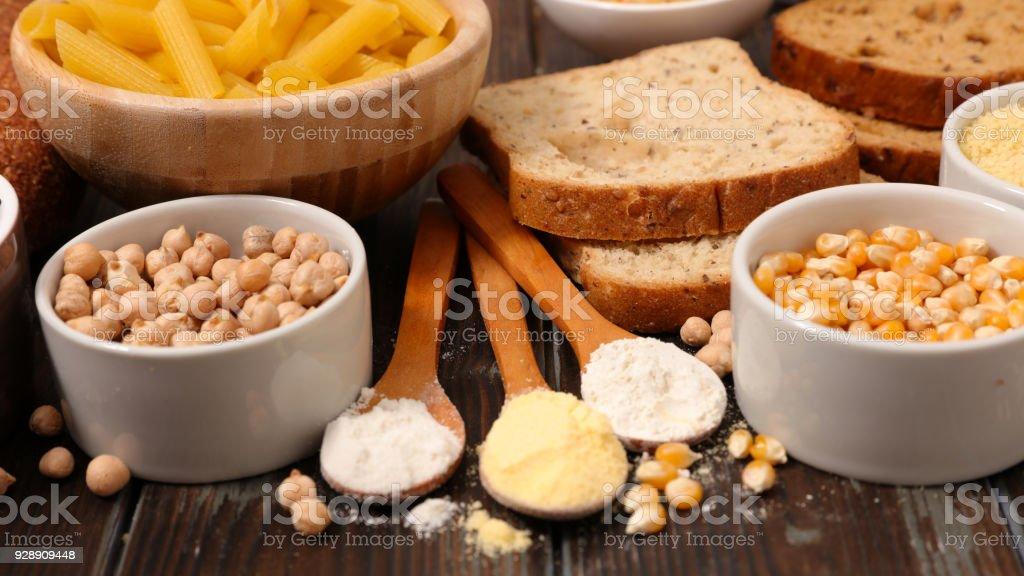 gluten-free product stock photo