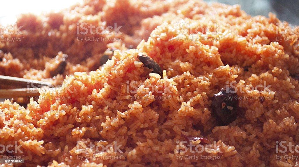 Glutinous rice stock photo