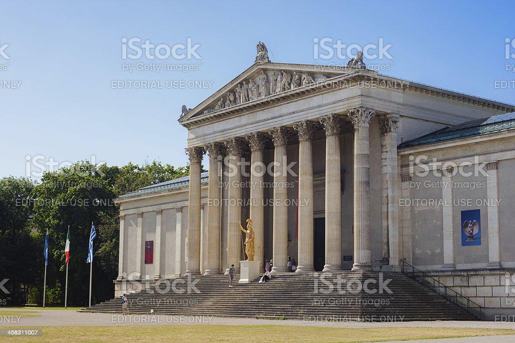 Glyptothek in Munich, Germany royalty-free stock photo