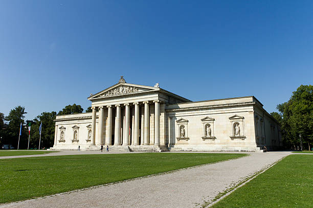 Glyptothek in Munich stock photo