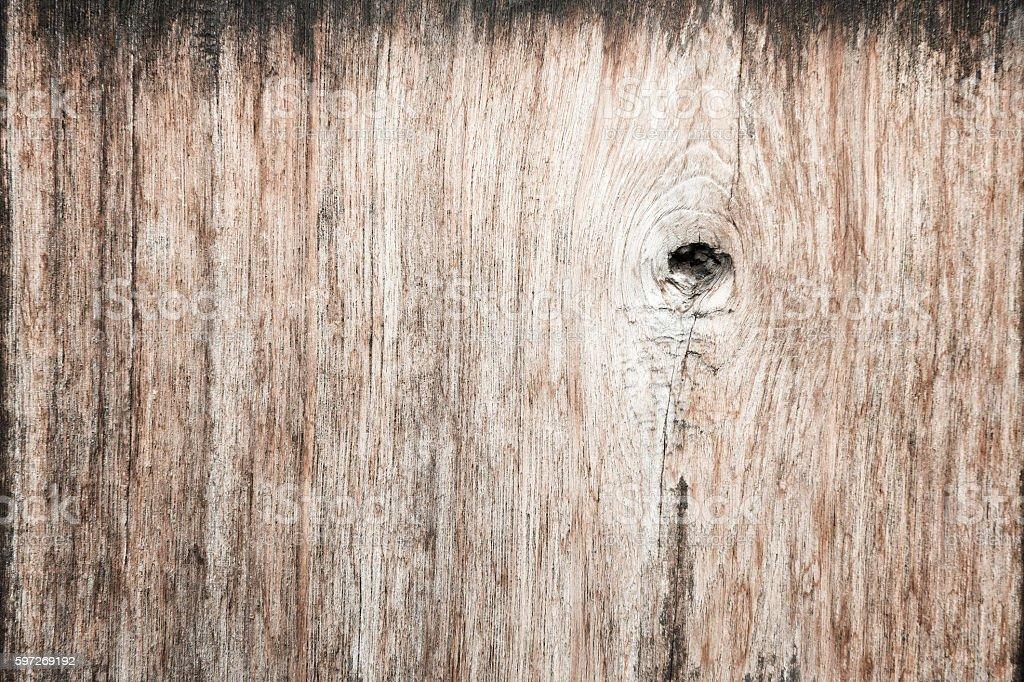 Gnarl wooden plank useful as background. photo libre de droits