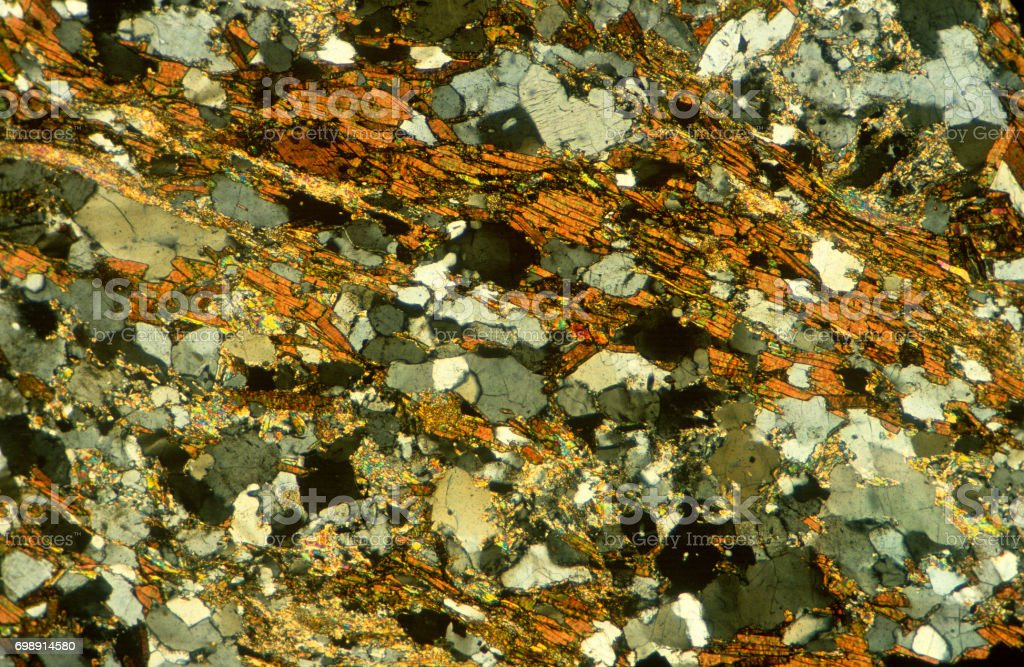 Gneiss stock photo