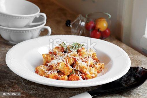 Gnocchi, Tomato, Savory Sauce, Prepared Potato, Pasta,