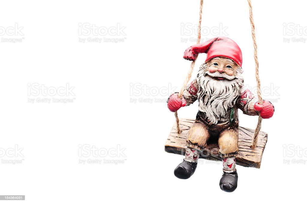 gnome figurine royalty-free stock photo