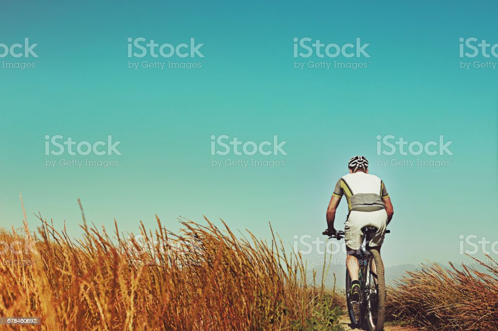 Go and get some bike time royalty-free stock photo