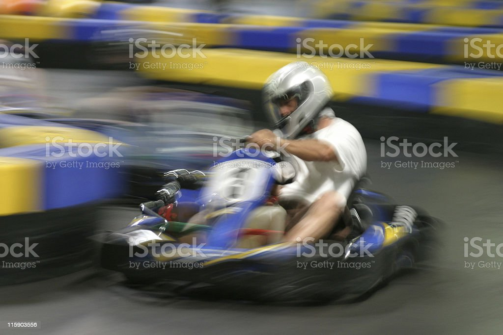 Go cart royalty-free stock photo