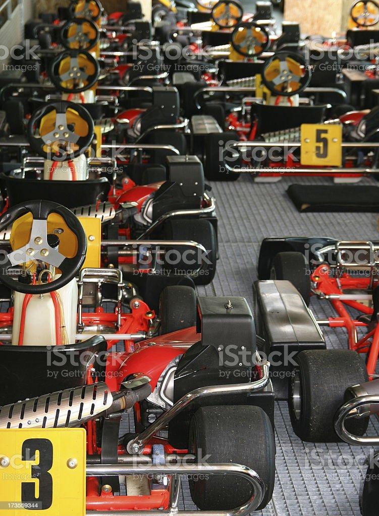 Go carts royalty-free stock photo