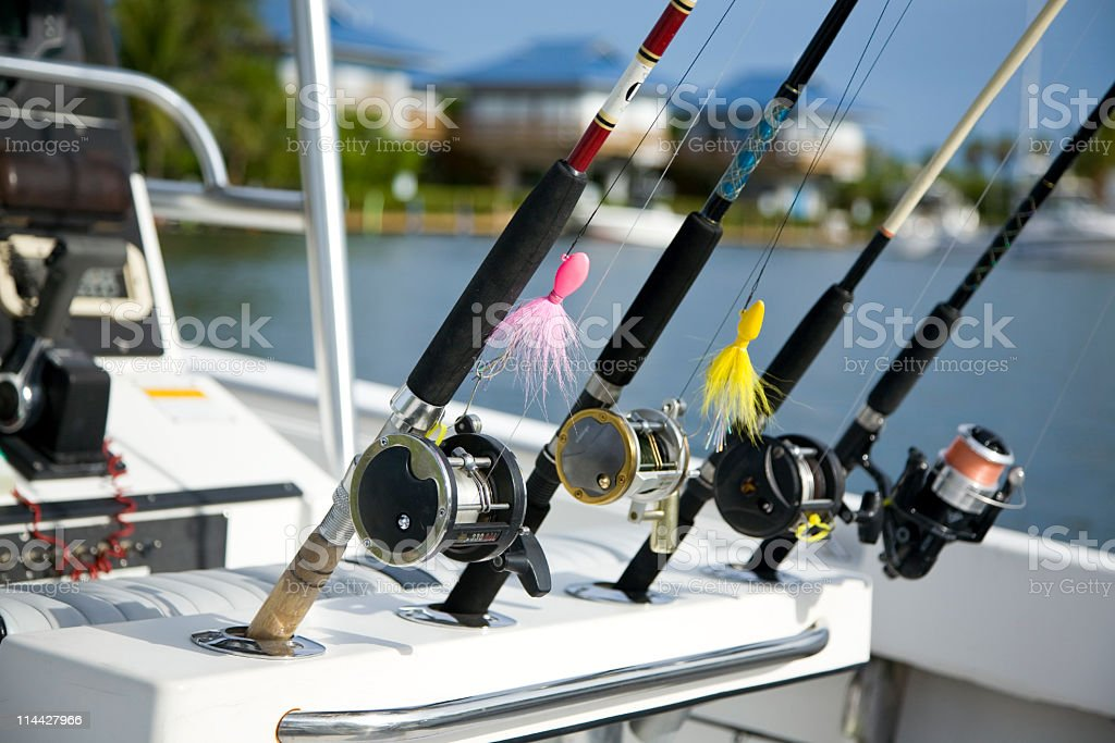 Go fishing royalty-free stock photo