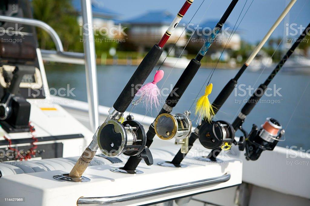 Go fishing stock photo