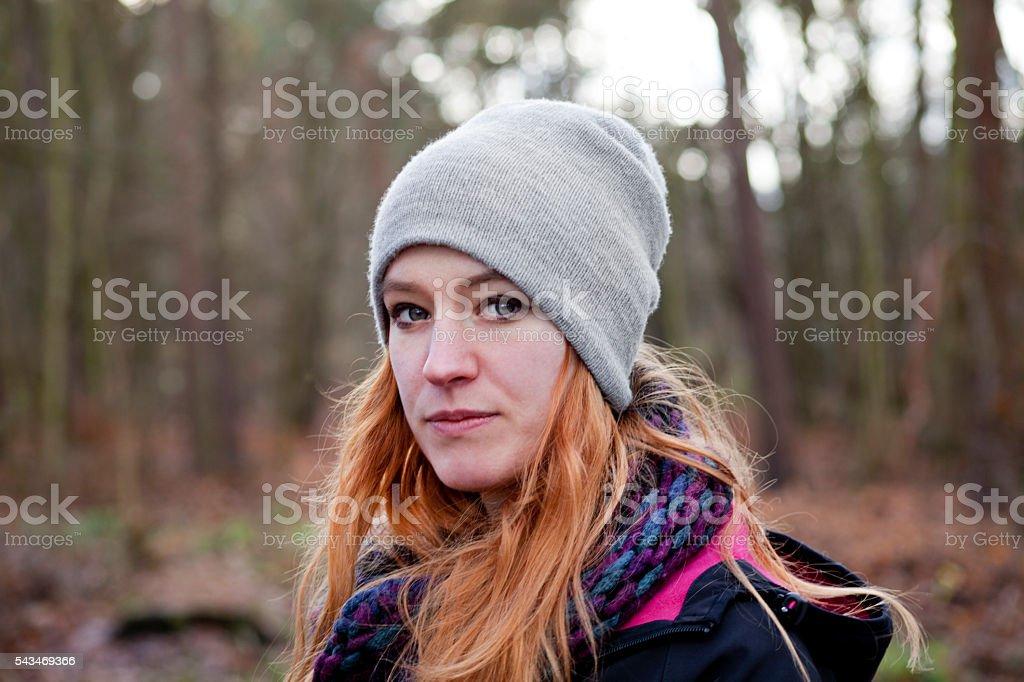 Go for an Autumn Walk stock photo