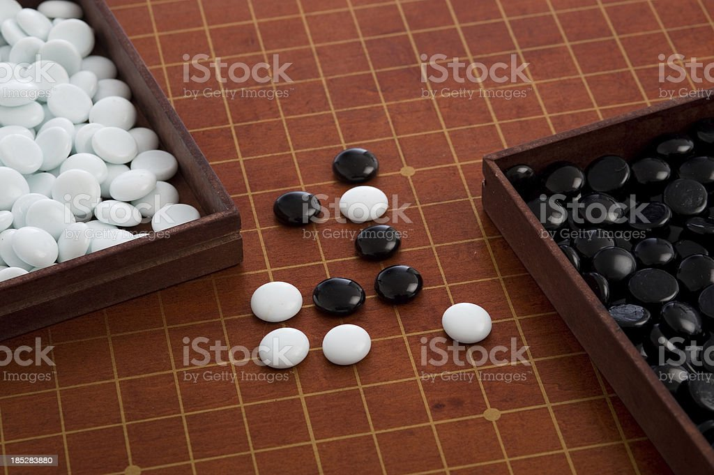 Go Gameboard stock photo