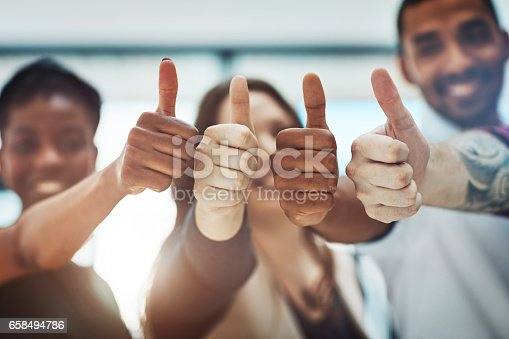 istock Go get that success! 658494786