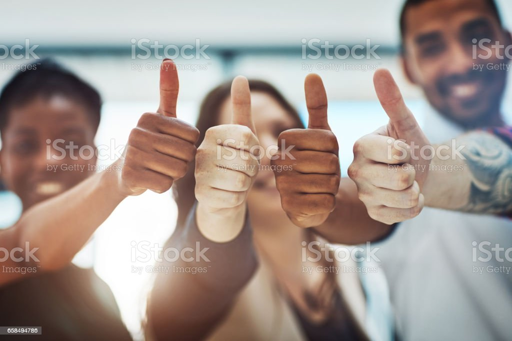 Go get that success! stock photo