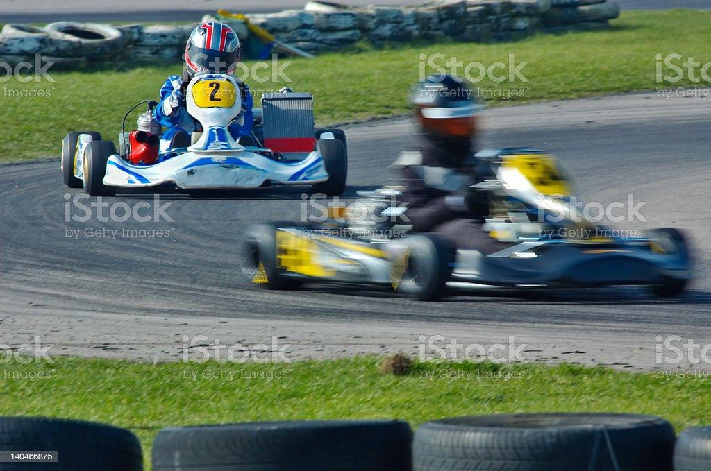 gehen Kart-Rennen – Foto