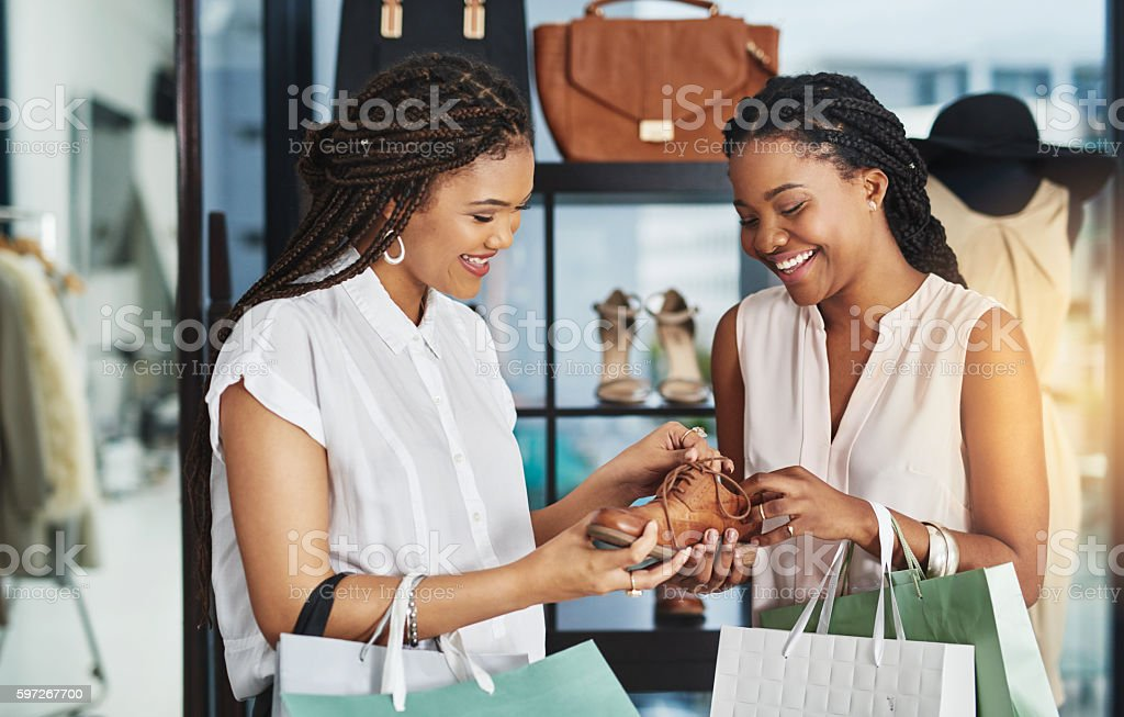 Go on - he'll love you for it! stock photo