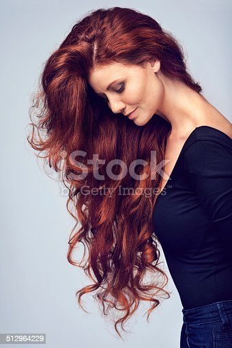 istock Go on, let your hair down! 512964229