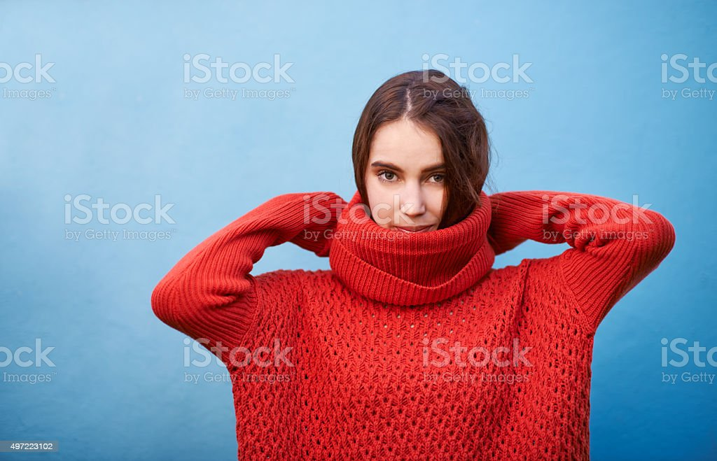 Go red or go home stock photo