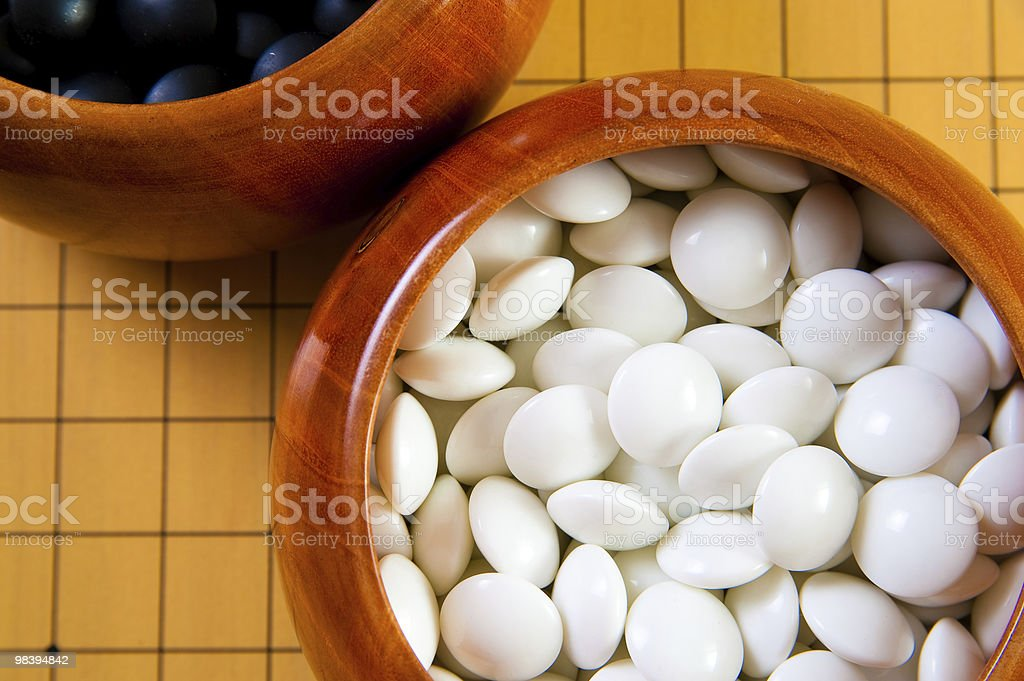 Go stones royalty-free stock photo