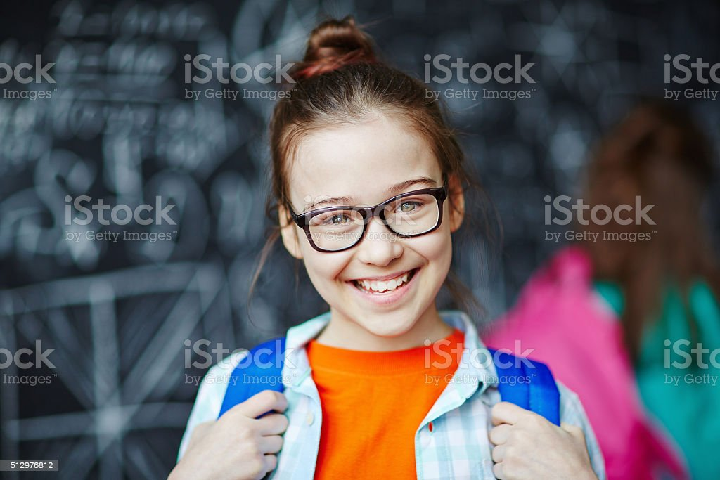 Go to school stock photo