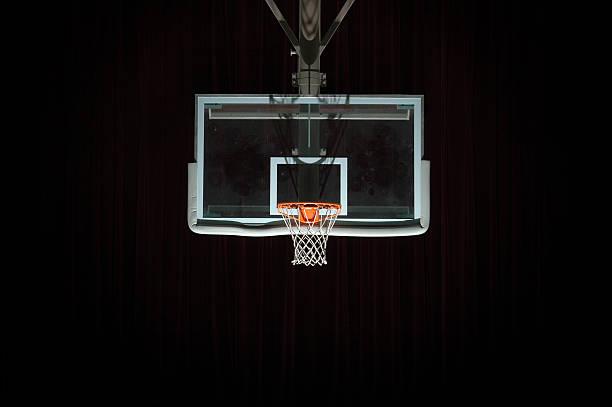 Go to the hoop stock photo
