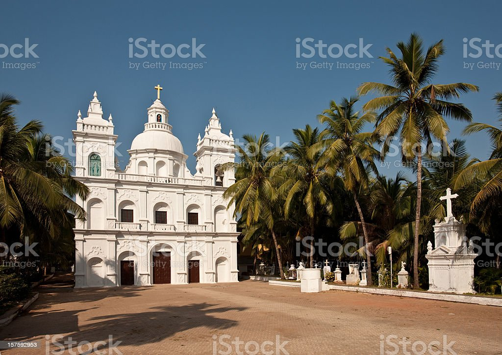 Goa Church royalty-free stock photo