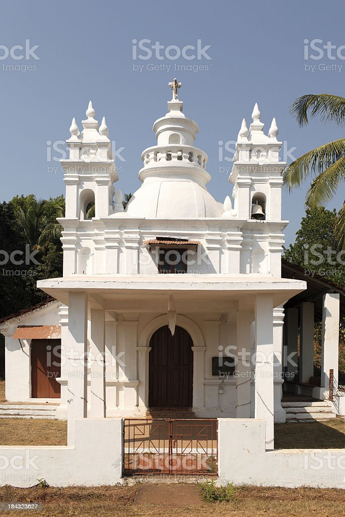 Goa Church stock photo