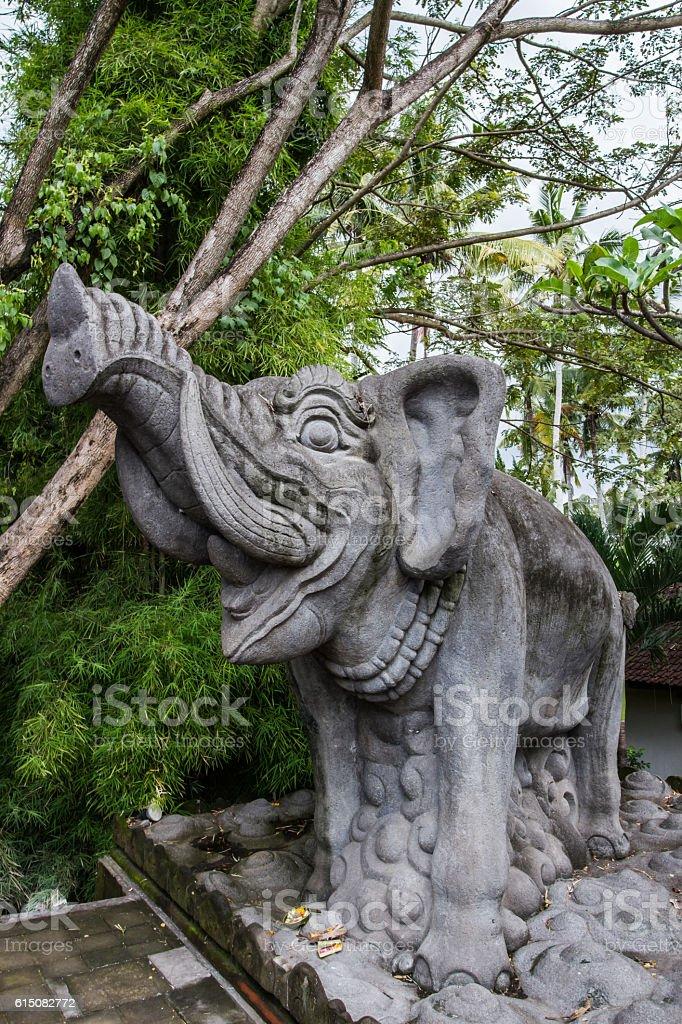 Goa Gajah elephant stock photo