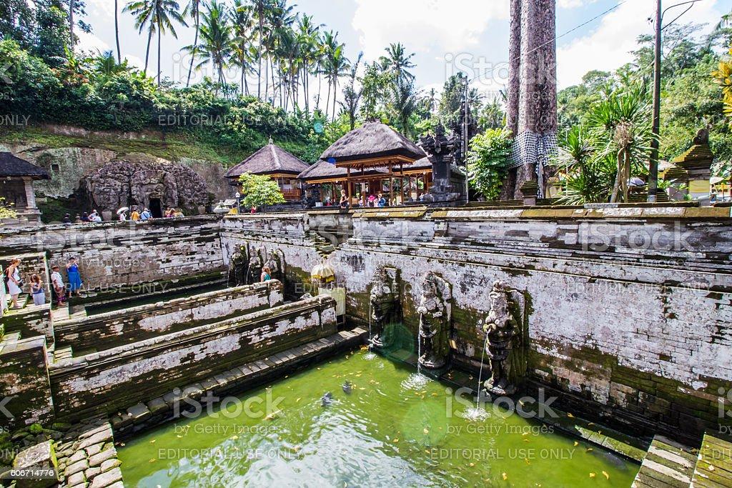 Goa Gajah stock photo