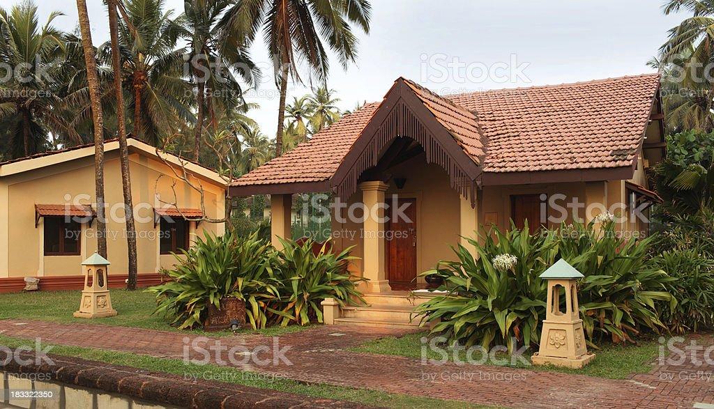 Goa resort royalty-free stock photo