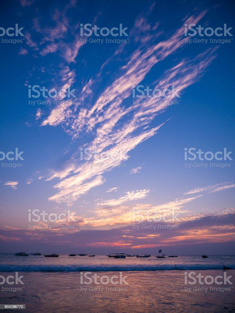 Goa Seascape stock photo