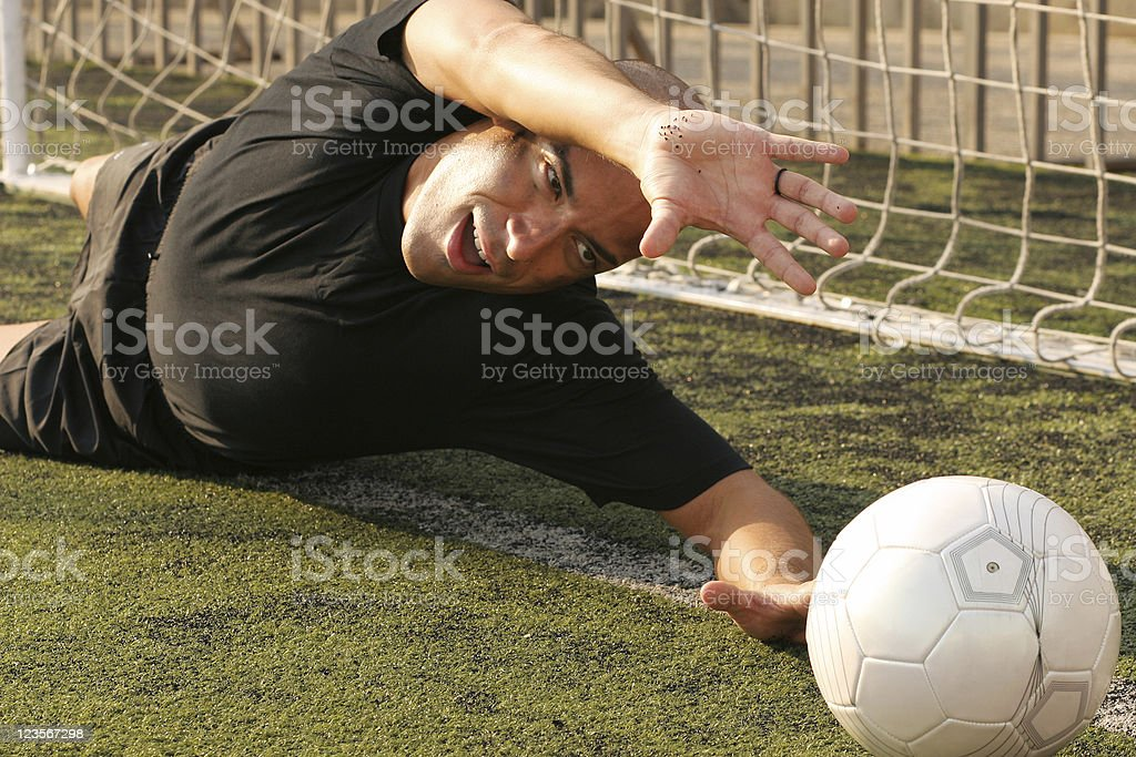 Goaallll! royalty-free stock photo