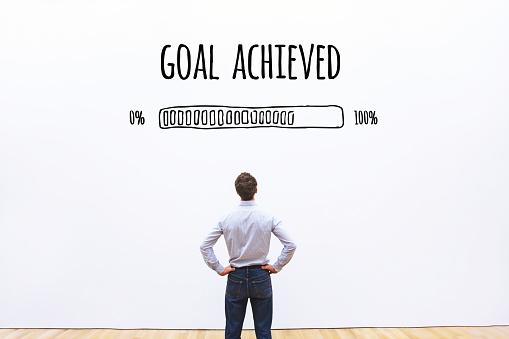 istock goal achieved progress loading bar 876895284