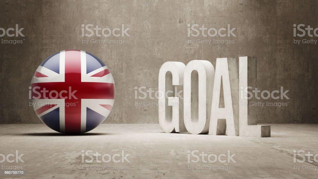 Goal Concept zbiór zdjęć royalty-free