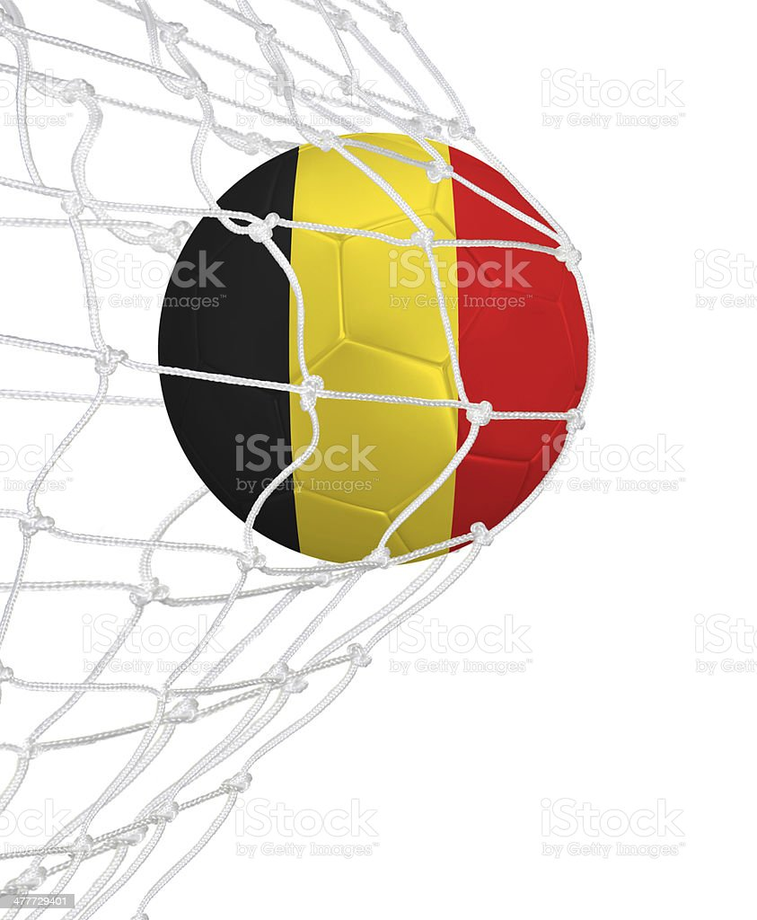 Goal for Belgium stock photo