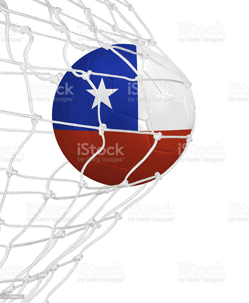Goal for Chile stock photo