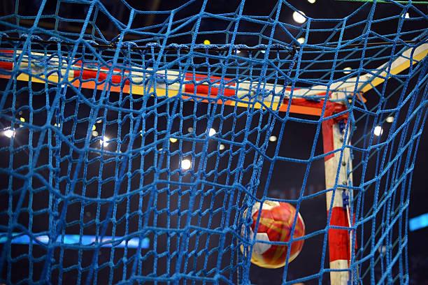 goal handball - handboll bildbanksfoton och bilder