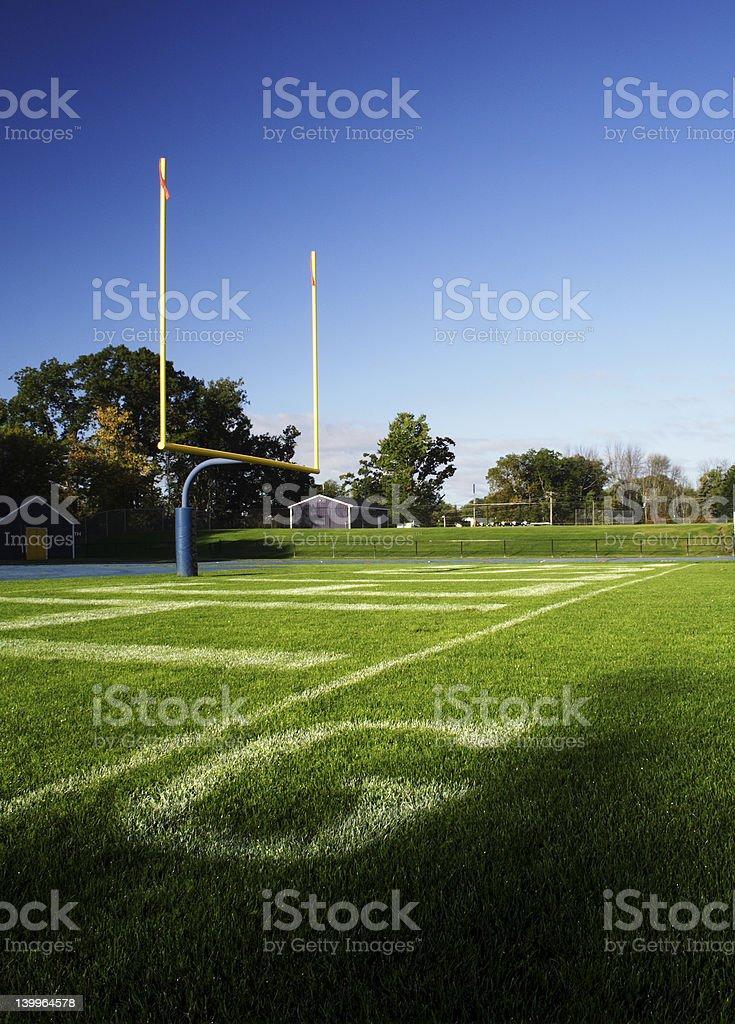 Goal Line stock photo