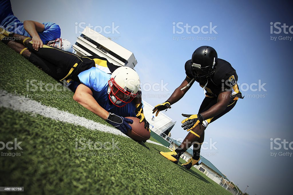 Goal Line Play stock photo