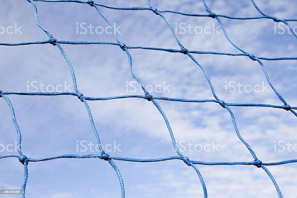 Goal netting royalty-free stock photo